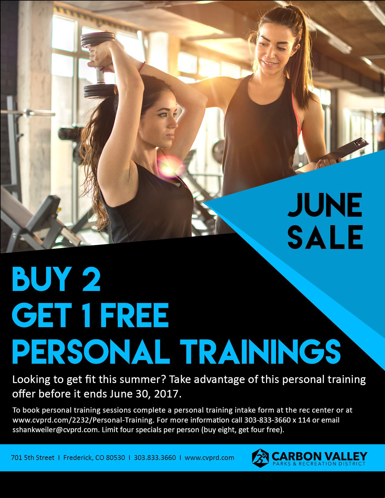 Personal Training Sale Flyer