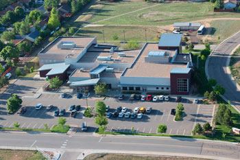 Aerial View of the Recreation Center